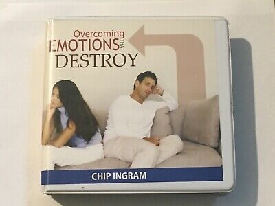 Overcoming Emotions That Destroy 3 CD SET ~ Living On The Edge Chip Ingram