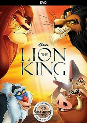 New The Lion King (DVD, 2017 Signature Collection) 1-Disc Box Set Free Shipping