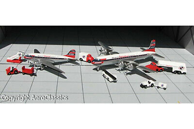 ACBNF156 AeroClassics DC-6 1/400 Model Braniff International