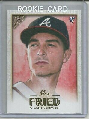 2018 Topps Gallery Max Fried Rookie Card-#20-Braves-Mint