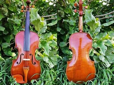 Stunning Old Hopf Violin w. highly grained wood and lots of character