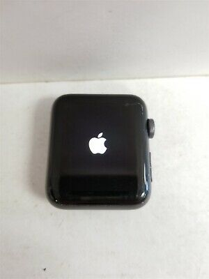 Apple Watch Series 3 42mm A1861 Space Gray Cellular Smartwatch FR2128