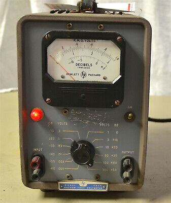 Hewlett-Packard Vacuum Tube Voltmeter - Model 400D