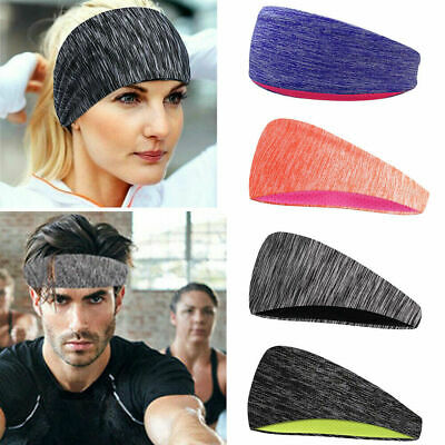 Unisex Stretch Headband Sports Yoga Exercise Sweatband Head Band For Women Men
