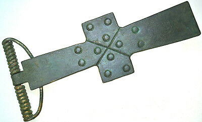 Large Roman Bronze Cross Brooch Fibula