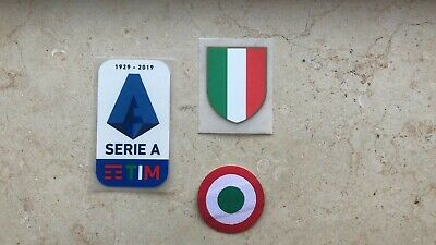 TIM SERIE A Patch 2019 2020 Badge new Logo Toppa Lega Calcio