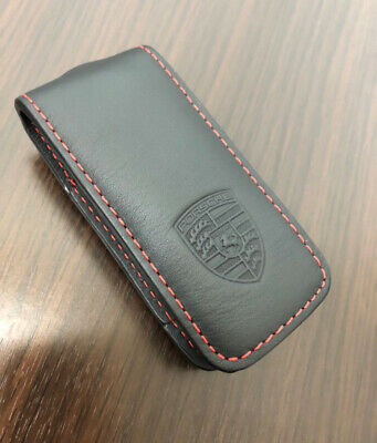 Porsche Leather Key Case Cover Boxster, Cayman,911,Panamera Cayenne Macan
