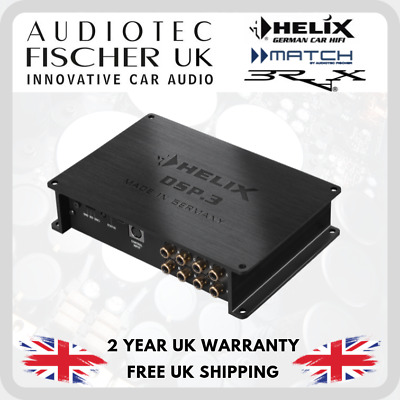 HELIX DSP.3 High-Res 6 in 8 out digital signal processor by Audiotec Fischer DSP