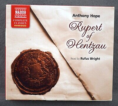 Rupert of Hentzau by Anthony Hope Unabridged Fiction Naxos Classic Audio Book CD