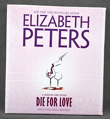 Die For Love by Elizabeth Peters (2008 Unabridged CD) Audio Book Kirby Mystery