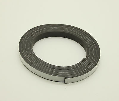 3Mx12.7x2mm Adhesive-Backed Flexible Imanes Magnético Cinta Tira Rollo Adhesivo