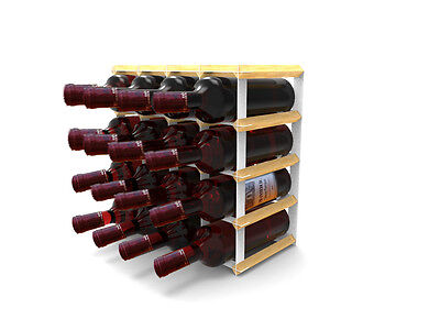 Tabletop Wine Rack Wine Bottle Storage Kitchen Bar Wine Stand Glass Bottle Rack