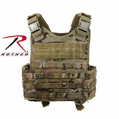 MOPC Plate Carrier Rothco Tactical Vest  Holds Front Back & Side Plates