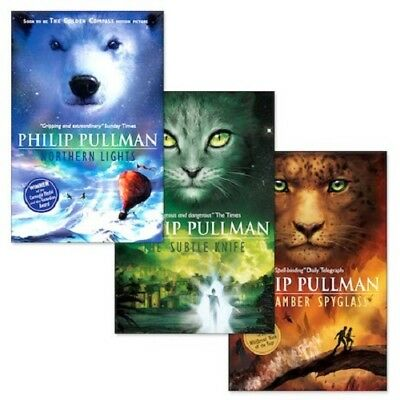 Philip Pullman - His Dark Materials Trilogy 3 Books Set Collection - Brand New