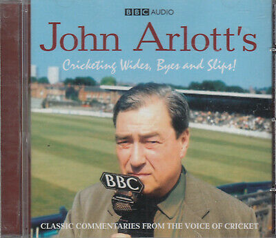 John Arlott Cricketing Wides Byes And Slips CD Audio Classic Commentaries BBC