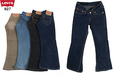 LEVI'S 927 Vintage Bootcut Flare Low Rise Denim Jeans 28 in. to 40 in.