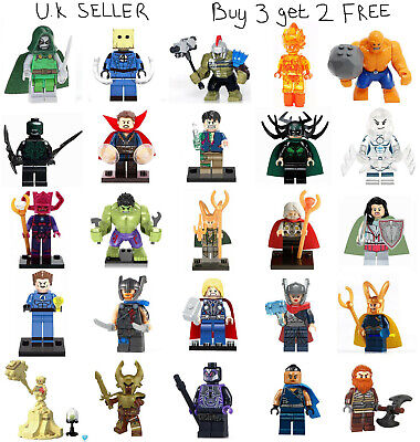 Fantastic 4 Marvel Minifigure Fantastic Four 4 Pyro Storm Antman Mini Figure