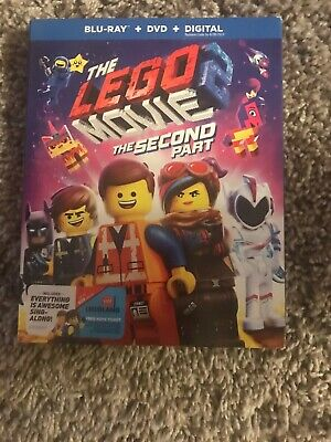 The LEGO Movie 2: The Second Part (Blu-ray + DVD) Digital Code Used