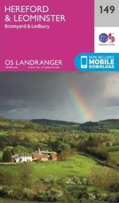 OS Landranger Map 149 Hereford & Leominster
