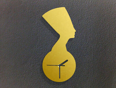 Bust of Nefertiti - Ancient Egypt - Country Symbol - Custom Acrylic Wall Clock