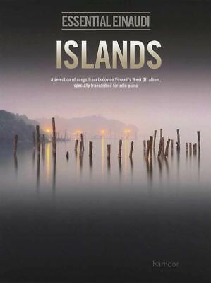 Essential Einaudi Islands Solo Piano Sheet Music Book Best Of Selection Ludovico