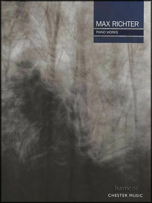 Max Richter Piano Works Sheet Music Book