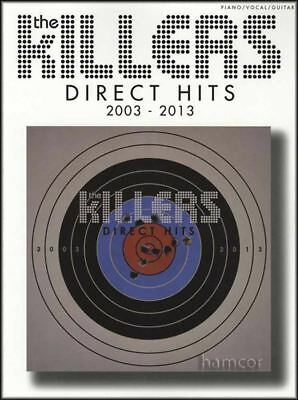 The Killers Direct Hits 2003-2013 Piano Vocal Guitar Sheet Music Book