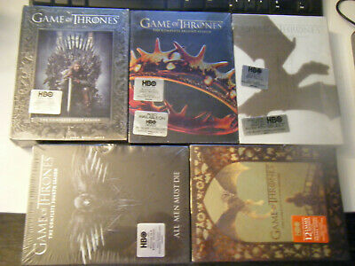 Game of Thrones: The Complete Seasons 1-5 (DVD) NEW