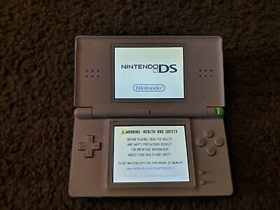 Nintendo DS Lite USG-001 White Handheld Game Console Tested & Works