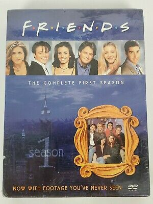 Friends Complete First Season (DVD, 2002, 4 Discs) Boxed Set NEW/Sealed