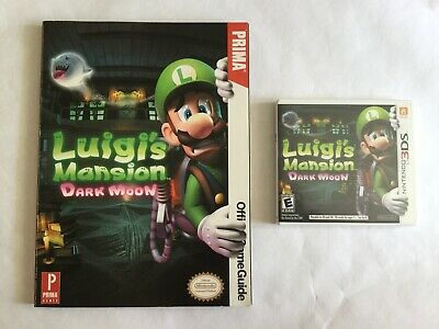 Luigi's Mansion: Dark Moon (Nintendo 3DS, 2013) & Strategy Guide