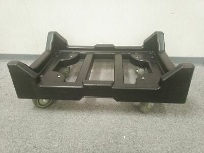 Quantum Storage Systems DLY-2415 28 x 3 In 1000 Lb Load Cap Black Dolly