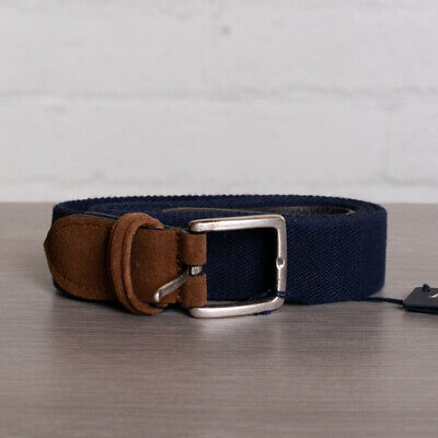 NIB ANDERSON/'S STRETCH WOVEN VISCOSE BELT RED SIZE 40 169$
