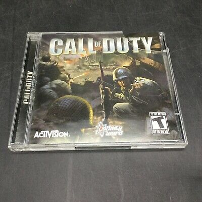 Call of Duty - PC Game - Infinity Ward / Activision 2 Disc Game Set