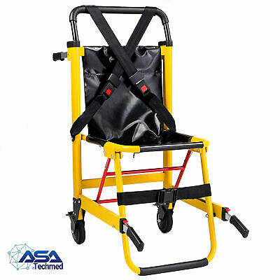 Stair Chair- Medical Emergency Evacuation Stretcher Light Weight 400lbs capacity