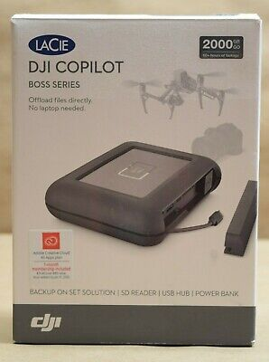 LaCie DJI Copilot BOSS Computer-Free in-Field Direct Backup and Power Bank