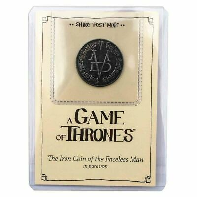 A Game of Thrones Iron Coin of the Faceless Man