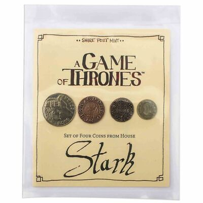 A Game of Thrones Horse Stark Coin Set