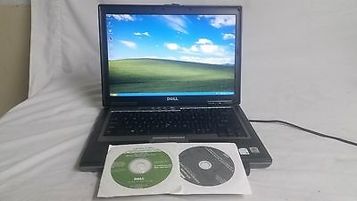 Dell Latitude D620 Laptop Windows XP Pro SP3 Operating system 4gb Ram Built WiFi