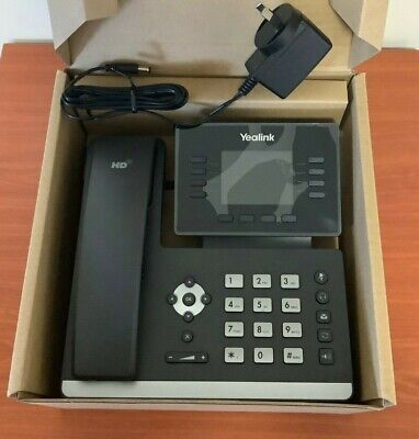 Brand new Yealink SIP-T52S IP telephone including AC adaptor