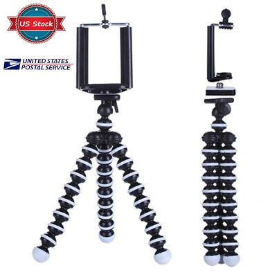 Octopus Flexible Portable Adjustable Tripod Stand Holder for Camera iPhone