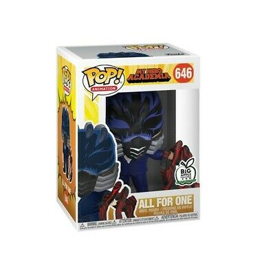 Funko Pop! My Hero All For One #646 Big Apple Exclusive Confirmed Order NEW!