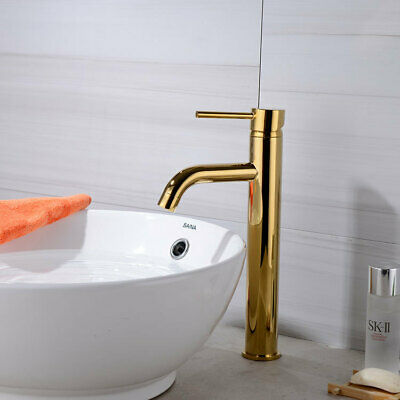 Bathroom Faucet Mixers Water Tap Basin Faucet Tall Bathroom Sink Brass Tap