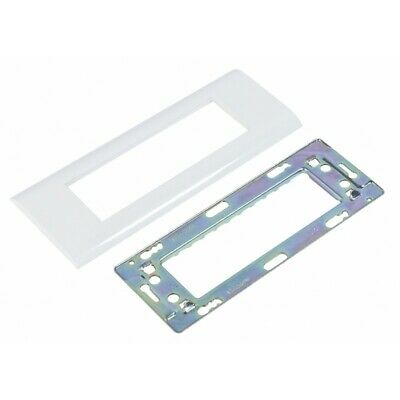 Legrand LEG99676 Plaque support pour 6 modules Mosaic