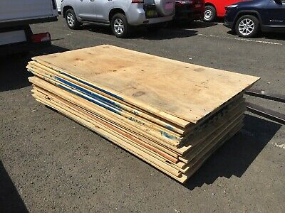 5 x Reject Ply Wood Plywood sheet Cheap 2400mm x 1200mm Timber Board Project