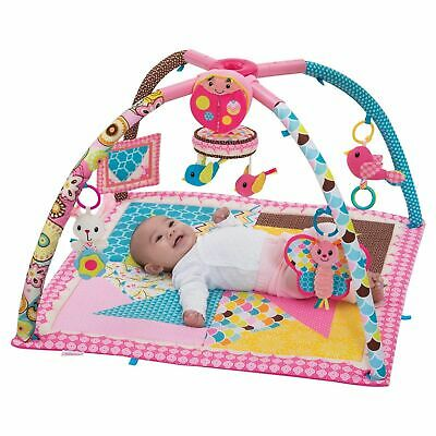 Deluxe Activity Gym & Play Mat Twist and Fold Music Infantino Go GaGa AU
