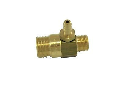 "Pressure Washer P.A Chemical Injector Brass Soap Venture . 3/8""M B.S.P To M22M"