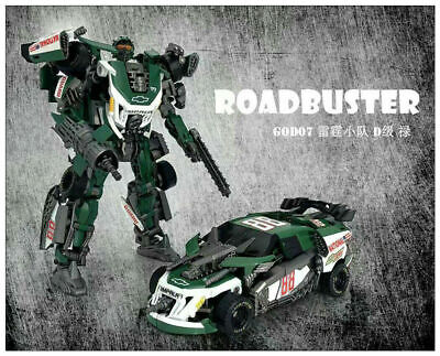 Transformers TOY TF Dream Studio GOD-07 Roadbuster Robot action figure New