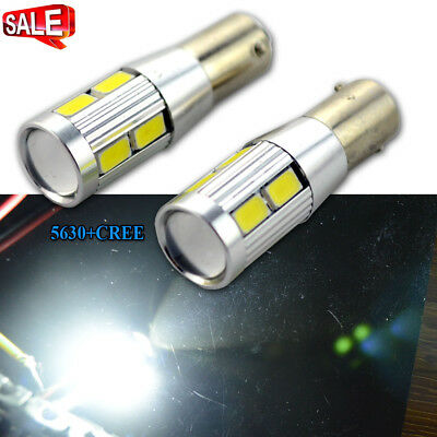 2x LED H6W 433 Bulbs Amber Xenon To Fit Side Light Citroen C4 Grand Picasso UA