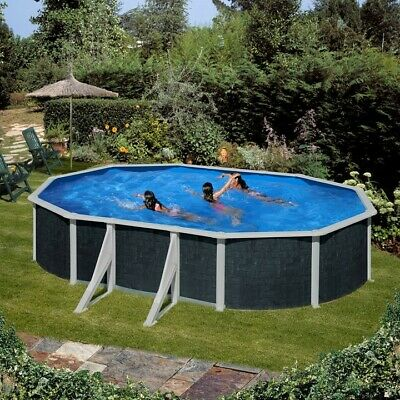 Octagonal 6.27 x 3.86m Above Ground Wooden Swimming Pool 640 Tropic Octo